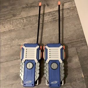 Nerf walk-in talkie